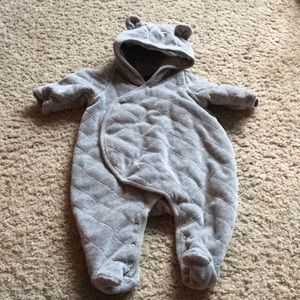 0-3m bear outfit